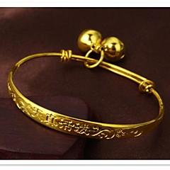 мелкозернистый 24-каратного золота покрытие и детский браслет