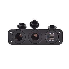 Недорогие Автоэлектроника-CIG 2 USB порта Только зарядное устройство DC 5V/2,1A