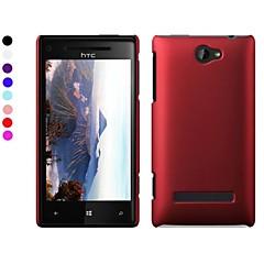 Για Θήκη HTC Παγωμένη tok Πίσω Κάλυμμα tok Μονόχρωμη Σκληρή PC HTC