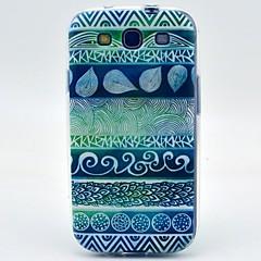 Voor Samsung Galaxy hoesje Patroon hoesje Achterkantje hoesje Geometrisch patroon TPU Samsung S3
