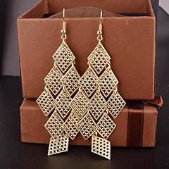 Χαμηλού Κόστους Σκουλαρίκια-Γυναικεία Κρεμαστά Σκουλαρίκια Γιορτές/Διακοπές Κοσμήματα με στυλ Ευρωπαϊκό Κράμα Geometric Shape Κοσμήματα Πάρτι Ειδική Περίσταση