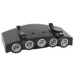 abordables Linternas de Casco-Linternas de Cabeza LED 1000 lm 4.0 Modo con pilas Camping/Senderismo/Cuevas Ciclismo Caza Escalar Laboral Lucesparavehículo Viaje Pesca