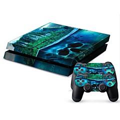 abordables Fundas PS4-B-SKIN Adhesivo Para Sony PS4 ,  Adhesivo PVC 1 pcs unidad