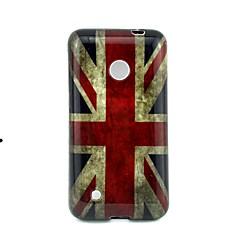 Voor Nokia hoesje Patroon hoesje Achterkantje hoesje Vlag Zacht TPU Nokia Nokia Lumia 530