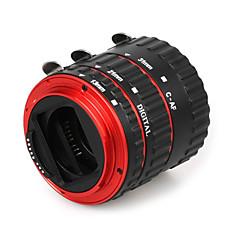 métal coloré accent af anneau de tube d'extension macro autofocus TTL électronique pour Canon EOS EF EF-S 60d 5d 7d ii 550d