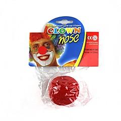 spielen den Clown roten Nase