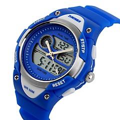 preiswerte Herrenuhren-SKMEI Armbanduhr Sender Armbanduhren für den Alltag Schwarz / Blau / Rosa / Zwei jahr / Zwei jahr / Maxell626 + 2025