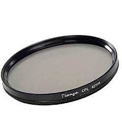 Tianya 62mm CPL cirkulære polarisator filter for PENTAX 18-135 18-250 Tamron 18-200mm linse