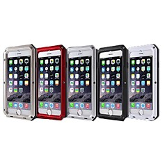 Para Funda iPhone 6 / Funda iPhone 6 Plus Antigolpes / Impermeable / Antipolvo Funda Cubierta Trasera Funda Un Color Dura MetaliPhone 6s