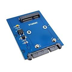 """お買い得  ケーブル、アダプター-2.5 """"SATA 3.0 22ピンのHDDアダプタハードディスクPCBAのスリム型は、ミニPCI-EのmsataのSSD"""