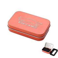 edcgear fém tároló doboz esetén a cigaretta - narancssárga