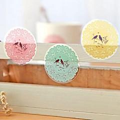 abordables Accesorios para Álbums de Fotos-adhesivos decorativos diy multifunción de estilo japonés sellado hornear (10 Pegatinas / pcs)