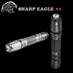 Laser - Vanntett Genopladelig Nedslags Resistent Glidesikkert Greb Nattesyn Højstyrke Batteri,3.7v V-Sharp Eagle®