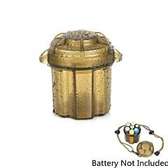 vízálló csepp védelem tároló doboz esetén konténer elem / szerkentyű - fekete zöld