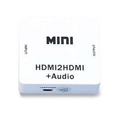 1080p hdmi Audio Extractor splitter hdmi 1.4 digital till analog 3.5mm ut ljudadapter