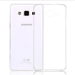 abordables Galaxy A5 Carcasas / Fundas-Funda Para Samsung Galaxy Funda Samsung Galaxy Transparente Funda Trasera Color sólido TPU para A5