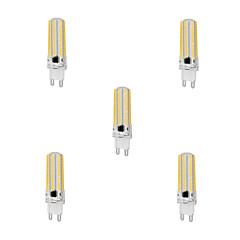 お買い得  LED 電球-YWXLIGHT® 5個 10 W 1000 lm G9 LEDコーン型電球 T 152 LEDビーズ SMD 3014 調光可能 温白色 / クールホワイト 220-240 V