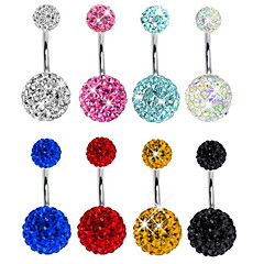 Women's Body Jewelry Navel Rings/Belly Piercing Unique Design Fashion Costume Jewelry Crystal Rhinestone Jewelry Jewelry For Daily Casual