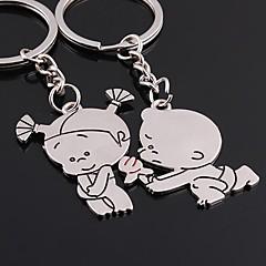 amare chiave sempre nozze portachiavi ring per San Valentino amante (una coppia)