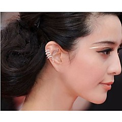 Women's Ear Cuffs Punk Costume Jewelry Alloy Snake Jewelry For Wedding Party Daily Casual