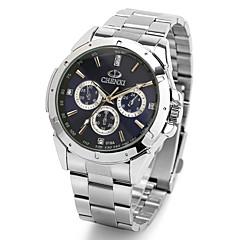 preiswerte Tolle Angebote auf Uhren-CHENXI® Herrn Armbanduhr Wasserdicht / / / Cool Edelstahl Band Freizeit / Kleideruhr Silber