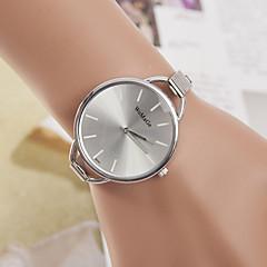お買い得  大特価腕時計-yoonheel 女性用 リストウォッチ カジュアルウォッチ 金属 バンド カジュアル / ファッション / ミニマリスト シルバー / 1年間 / SODA AG4