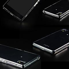Для Кейс для Sony / Xperia Z3 Прозрачный Кейс для Задняя крышка Кейс для Один цвет Мягкий TPU для Sony Sony Xperia Z3