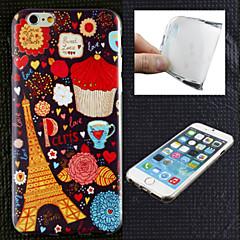 iPhone 6 Plus - Кейс на заднюю панель - Графика/Особый дизайн/Ультратонкий ( Несколько цветов , Термопластик )