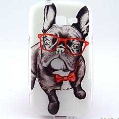 お買い得  Samsung その他の機種用ケース/カバー-ケース 用途 Samsung Galaxy Samsung Galaxy ケース パターン バックカバー 犬 TPU のために Trend Lite