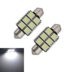 저렴한 LED 전구-1.5w 꽃 장식 조명 6 smd 5050 100-150lm 차가운 흰색 6000-6500k dc 12v