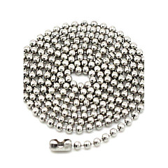 Necklace Chain Necklaces Jewelry Daily / Casual / Sports Fashion Titanium Steel Silver 1pc Gift
