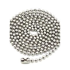 Coliere Lănțișoare Bijuterii Zilnic / Casual / Sport La modă Oțel titan Argint 1 buc Cadou
