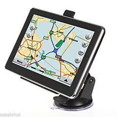 abordables GPS para Coche-nueva de 7 pulgadas GPS de camiones auto del coche de navegación mapa 4gb sentó navi mueca de dolor 6.0 fm mp3 mp4 (en el mapa de europa)