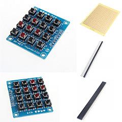 お買い得  ロボット&アクセサリー-Arduinoのためのマトリックスキーボードロボット部品および付属品