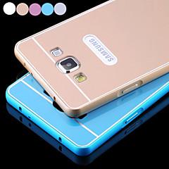 Χαμηλού Κόστους Galaxy A3 Θήκες / Καλύμματα-Για Samsung Galaxy Θήκη Επιμεταλλωμένη tok Πίσω Κάλυμμα tok Μονόχρωμη Ακρυλικό Samsung A3