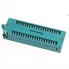 IC 블록 40P 40P 잠금 좌석 40pic 라이브 테스트 좌석 칩 IC 소켓 BAS
