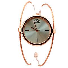 Da donna Orologio alla moda Orologio da polso Orologio braccialetto Quarzo Lega Banda Braccialetto classe Oro Dorato Oro rosa