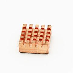 χαλκό ψύκτρα για Raspberry Pi μητρική πλακέτα - κόκκινο χαλκό