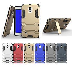 For Samsung Galaxy Note Stødsikker Med stativ Etui Bagcover Etui Armeret PC for Samsung Note 5 Edge Note 5 Note 4