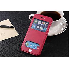 Назначение iPhone 8 iPhone 8 Plus iPhone 6 iPhone 6 Plus Чехлы панели Бумажник для карт со стендом с окошком Флип Чехол Кейс для Сплошной