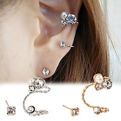 olcso Fülbevalók-Női Beszúrós fülbevalók Fül Mandzsetta Achát Hamis gyémánt Ötvözet Ékszerek Parti Napi