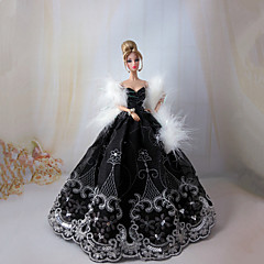 Princess Dresses For Barbie Doll Dresses For Girl's Doll Toy