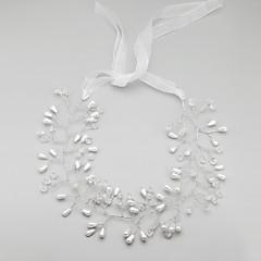 Bruiloft/Feest - Haarbanden ( Legering/Imitatieparel , Wit )