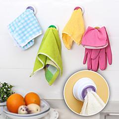olcso -tervezték, öntapadós ruhával birtokosa törülközőt horog konyha (véletlenszerű szín)