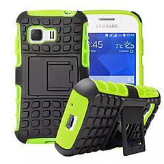 Varten Samsung Galaxy kotelo Iskunkestävä / Tuella Etui Takakuori Etui Panssari PC Samsung Young 2 / Grand Prime