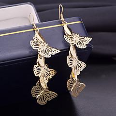 Dames Druppel oorbellen Kostuum juwelen Legering Dierenvorm Drop Vlinder Sieraden Voor Bruiloft Feest Dagelijks Causaal