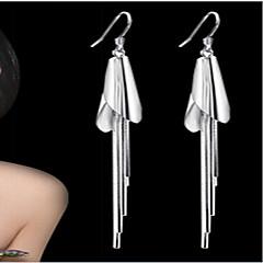 Γυναικεία Κρεμαστά Σκουλαρίκια Ευρωπαϊκό κοστούμι κοστουμιών Ασήμι Στερλίνας Επάργυρο Κοσμήματα Για