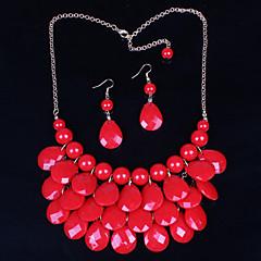 tanie -Damskie Zestawy biżuterii Vintage Urocza Imprezowa Na co dzień Modny Wyrazista biżuteria Słodkie Style Impreza Specjalne okazje Urodziny