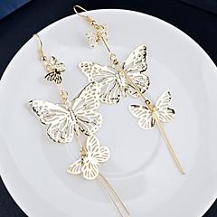 preiswerte Ohrringe-Damen Tropfen-Ohrringe - Silber / Golden Für Hochzeit Party Alltag