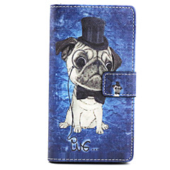 Voor Sony hoesje / Xperia Z3 Portemonnee / Kaarthouder / met standaard / Flip hoesje Volledige behuizing hoesje Hond Hard PU-leer voor